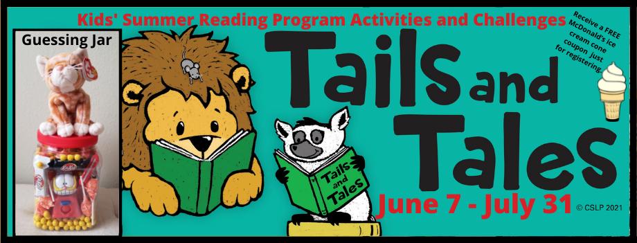 KIDS' 2021 Summer Reading
